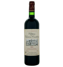 French Wine Chateau Valentons des Canteloupe Bordeaux Superieur 2015 750ml