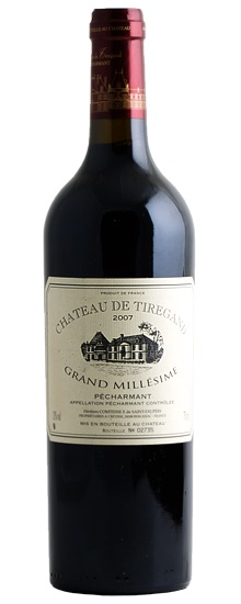 "French Wine Chateau de Tiregand ""Grand Millésime"" Pécharmant 2011 750ml"