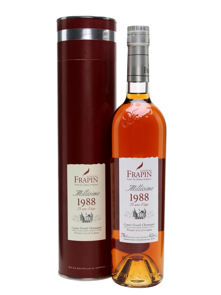 "Brandy Frapin Millésime ""1988"" Cognac 27 Years Old 750ml"