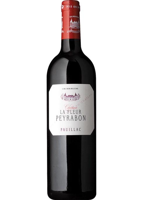 French Wine La Fleur Peyrabon Pauillac 2015 750ml