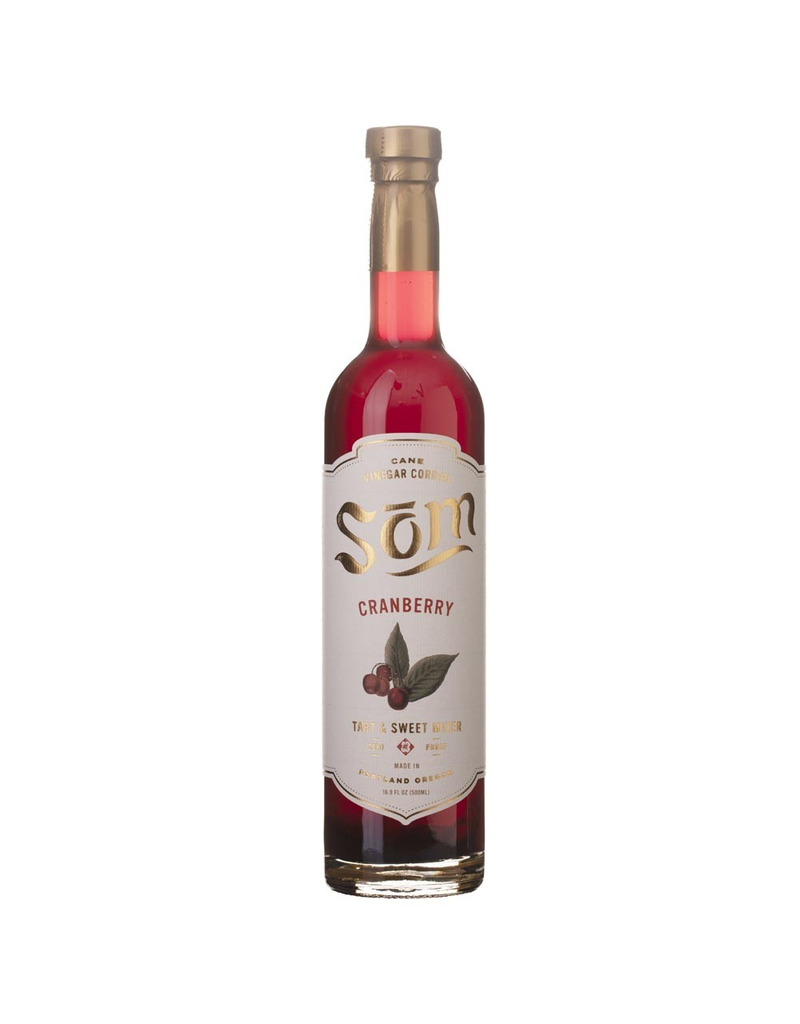 Som Cranberry Cane Vinegar Cordial 500ml