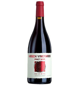 "American Wine Hirsch Vineyards ""Reserve"" Pinot Noir Sonoma Coast 2016 750ml"