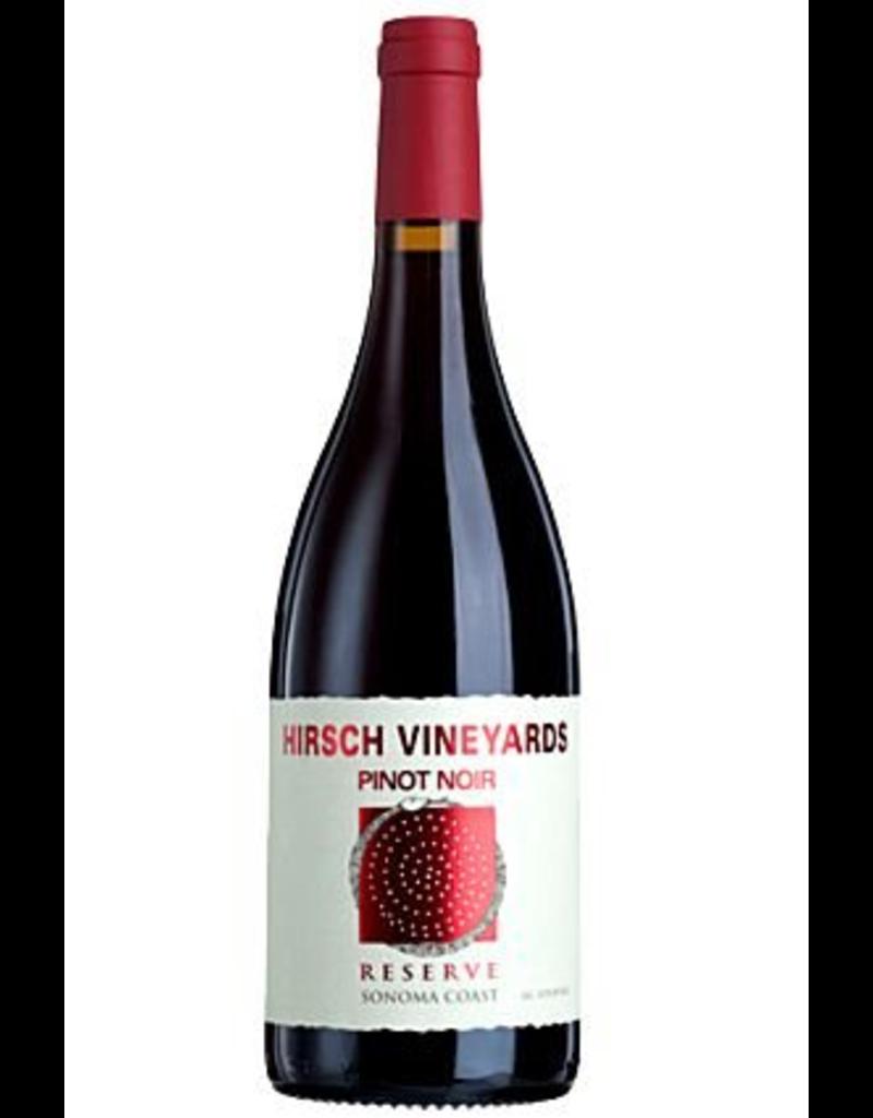 "American Wine Hirsch Vineyards ""Reserve"" Pinot Noir Sonoma Coast 2016 750ml"