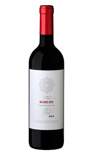 "South American Wine Casa de Uco Malbec ""Vineyard Selection"" Uco Valley 2014 750ml"