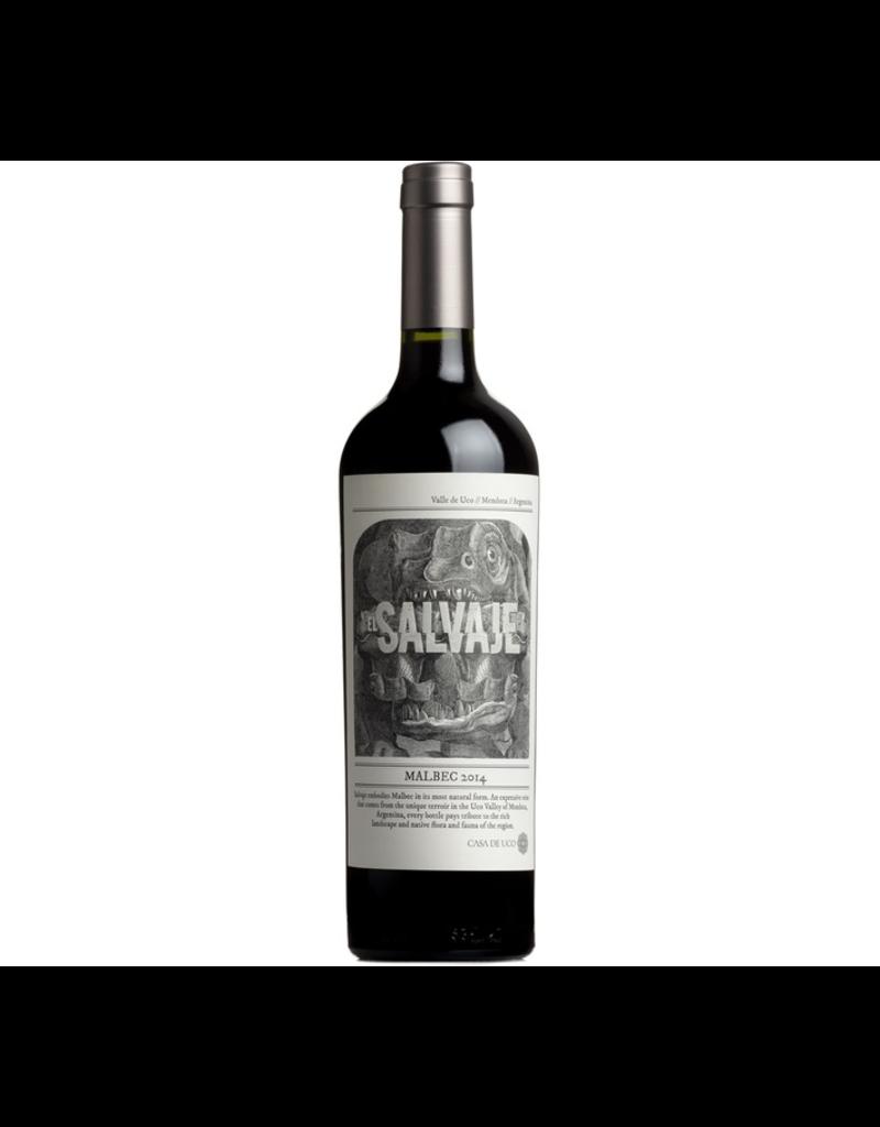 """South American Wine Casa de Uco """"El Salvaje"""" Malbec Valle de Uco 2014 750ml"""