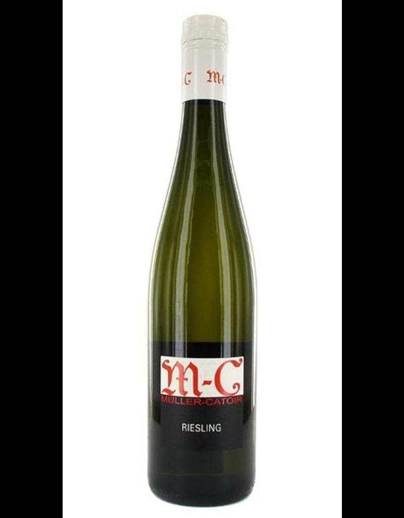 """German Wine Muller-Catoir """"M-C"""" Riesling Feinherb Pfalz 2016 750ml"""