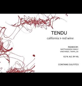 """Matthaison """"Tendu"""" Red Wine California 2019 750ml"""