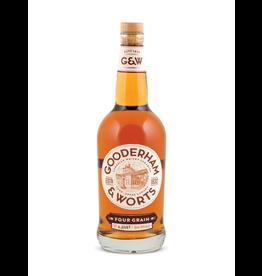 Gooderham & Worts Four Grain Canadian Whisky 750ml