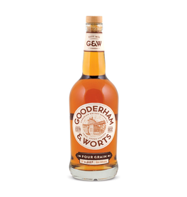 Whiskey Gooderham & Worts Four Grain Canadian Whisky 750ml