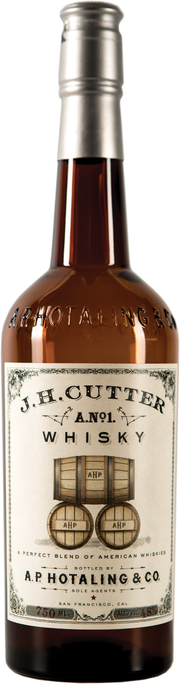 "Whiskey A.P. Hotaling & Co ""J.H. Cutter A.No. 1"" Whisky 750ml"