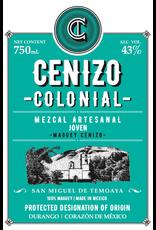 """Lagrimas de Dolores Cenizo Colonial """"San Miguel de Temoaya"""" Mezcal Artesanal Joven 750ml"""