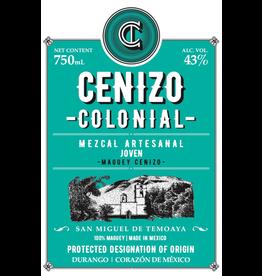 "Tequila/Mezcal Lagrimas de Dolores Cenizo Colonial ""San Miguel de Temoaya"" Mezcal Artesanal Joven 750ml"