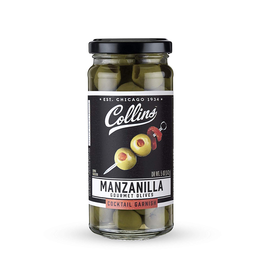 Miscellaneous Collins Manzanilla Pimento Stuffed Olives 5oz