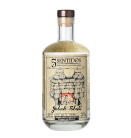 Tequila/Mezcal Cinco Sentidos Jabali-Tobala Agave Spirit 750ml