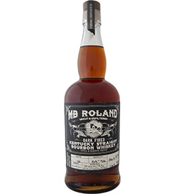 "Bourbon MB Roland ""Dark Fired"" Kentucky Straight Bourbon Whiskey Uncut & Unfiltered Still & Barrel Proof 750ml"