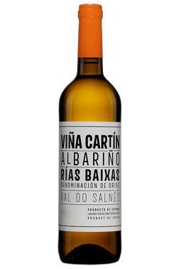"""Spanish Wine Bodegas Terras de Lantaño """"Viña Cartin"""" Rias Baixas Albariño 2018 750ml"""