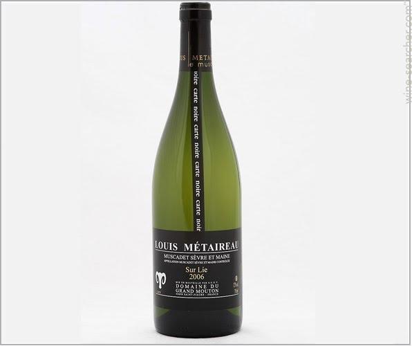 """French Wine Louis Métaireau """"Black Label Muscadet Sévre-et-Maine Sur Lie 2018 750ml"""
