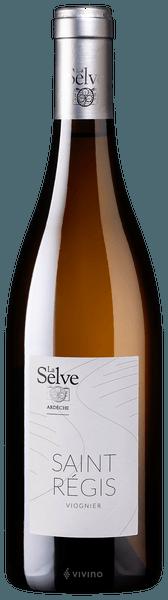 """French Wine Chateau de la Selve """"Saint Régis"""" Coteaux de L'Ardeche Viognier 2018 750ml"""
