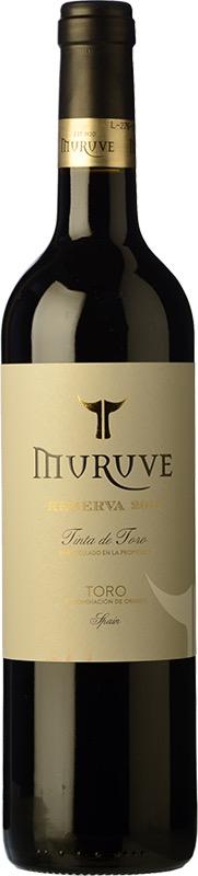 Spanish Wine Muruve Tinta de Toro Reserva 2014 750ml