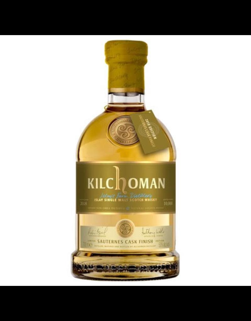 Kilchoman Sauternes Cask Finish Single Malt Scotch Whisky 750ml