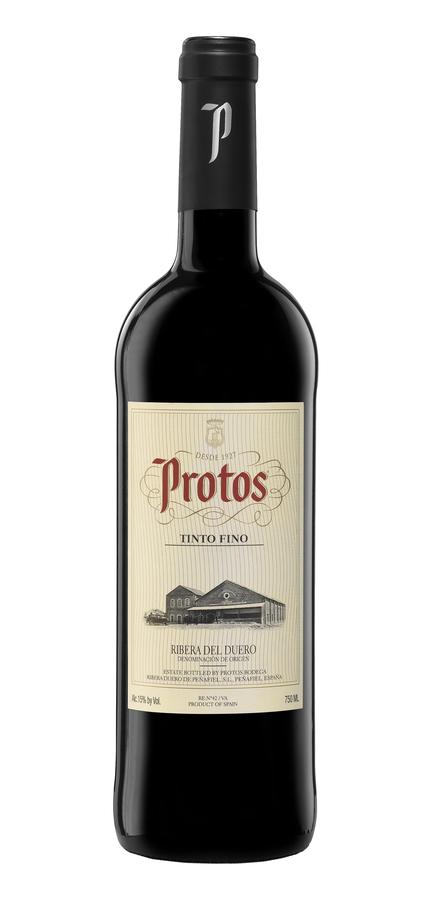 Spanish Wine Protos Tinto Fino Ribera Del Duero 2017 750ml