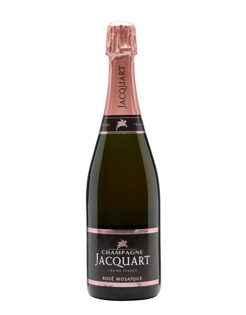 """Sparkling Wine Jacquart """"Mosaique"""" Brut Rosé NV 750ml"""