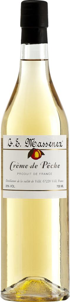 Liqueur G. E. Massenez Creme de Peche 750ml
