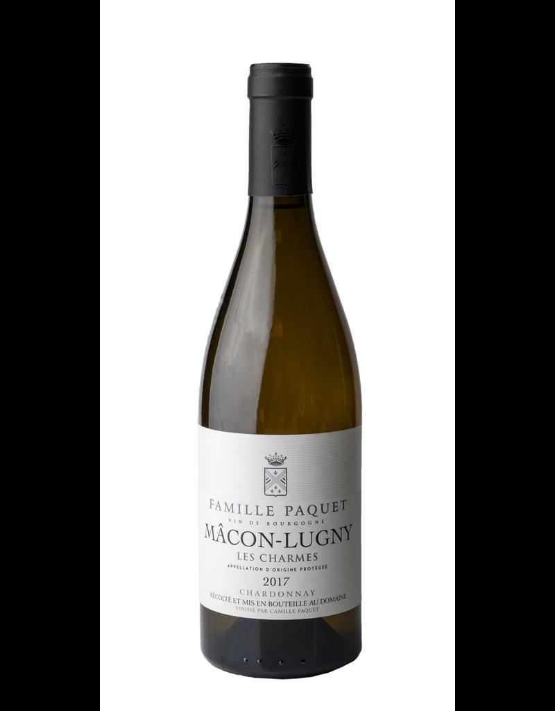 French Wine Famille Paquet vin de Bourgogne Chardonnay 2018 750ml
