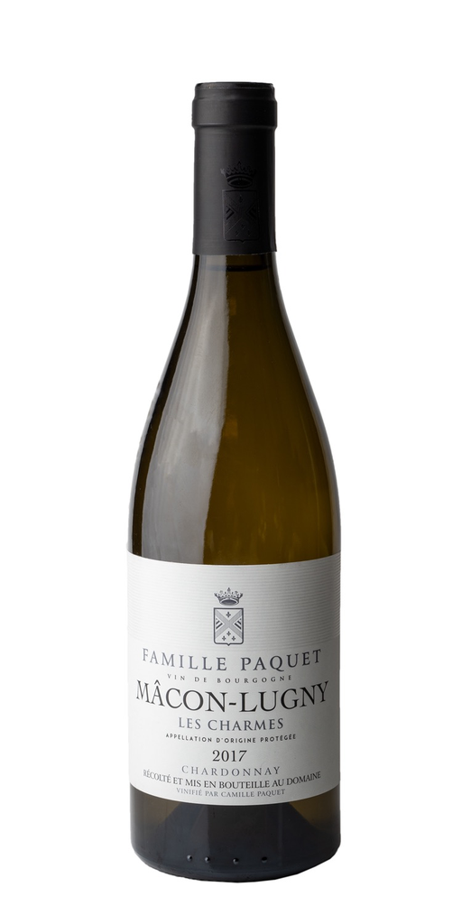 French Wine Famille Paquet vin de Bourgogne Chardonnay 2018 750ml