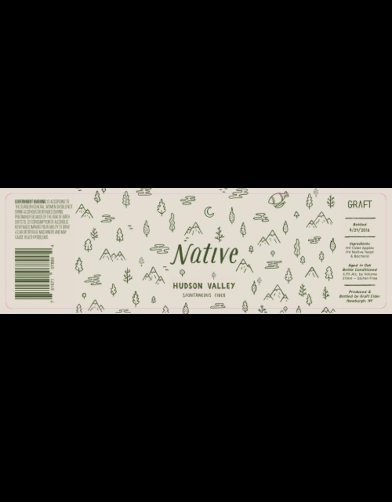 "Graft ""Native"" Hudson Valley Spontaneous Cider 375ml"