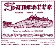 French Wine Hippolyte Reverdy Sancerre Rouge 2016 750ml