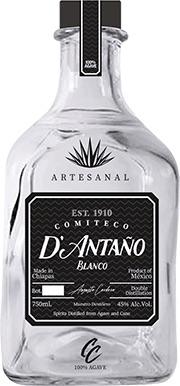 Tequila/Mezcal D'Antaño Blanco Comiteco 750ml