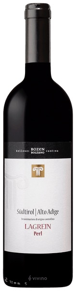 "Italian Wine Bozen/Bolzano Lagrein ""Perl"" Sudtirol/Alto Adige 2017 750ml"