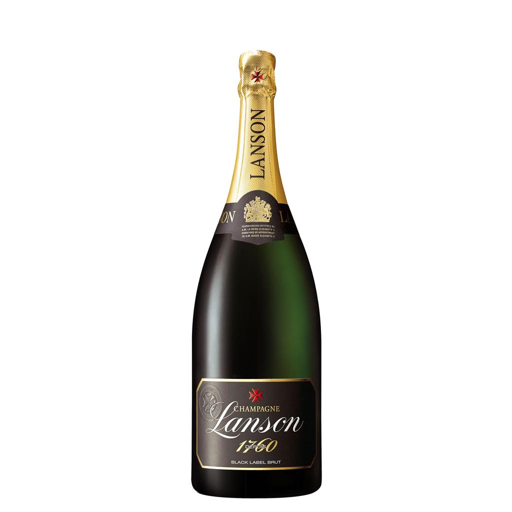 "Sparkling Wine Lanson ""Black Label"" Brut Champagne 1.5L"