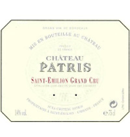 French Wine Chateau Patris Saint-Emilion Grand Cru 2011 750ml