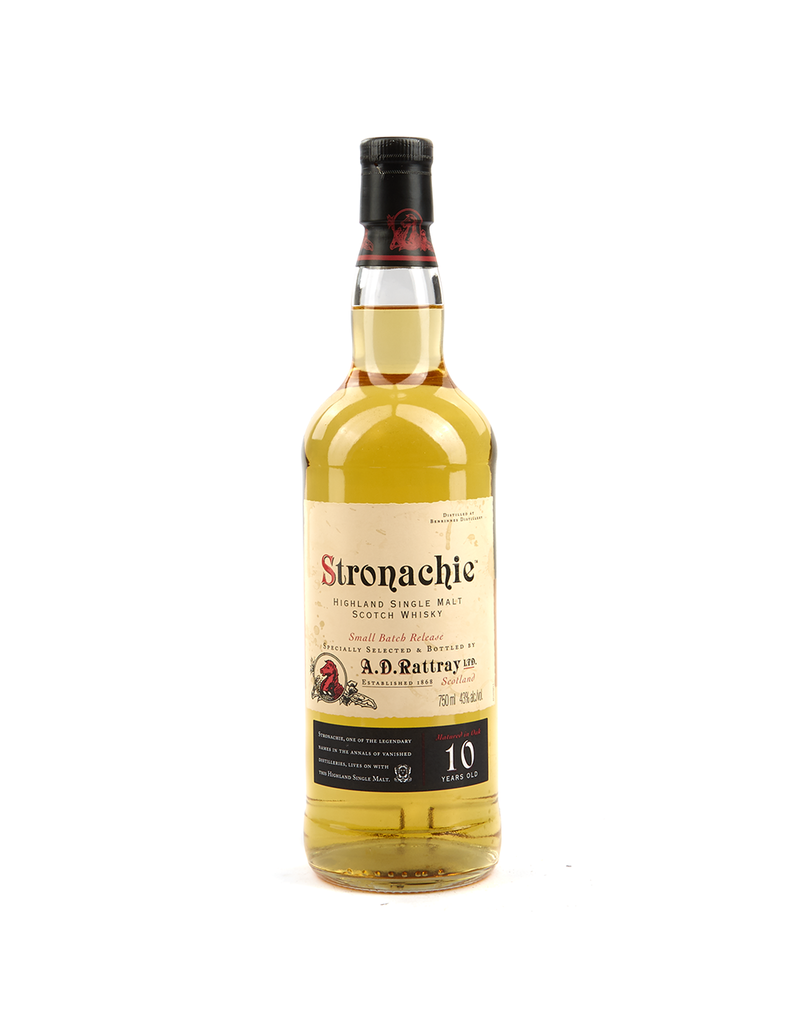 Stronachie 10 Year Highland Single Malt Scotch Whisky 750ml