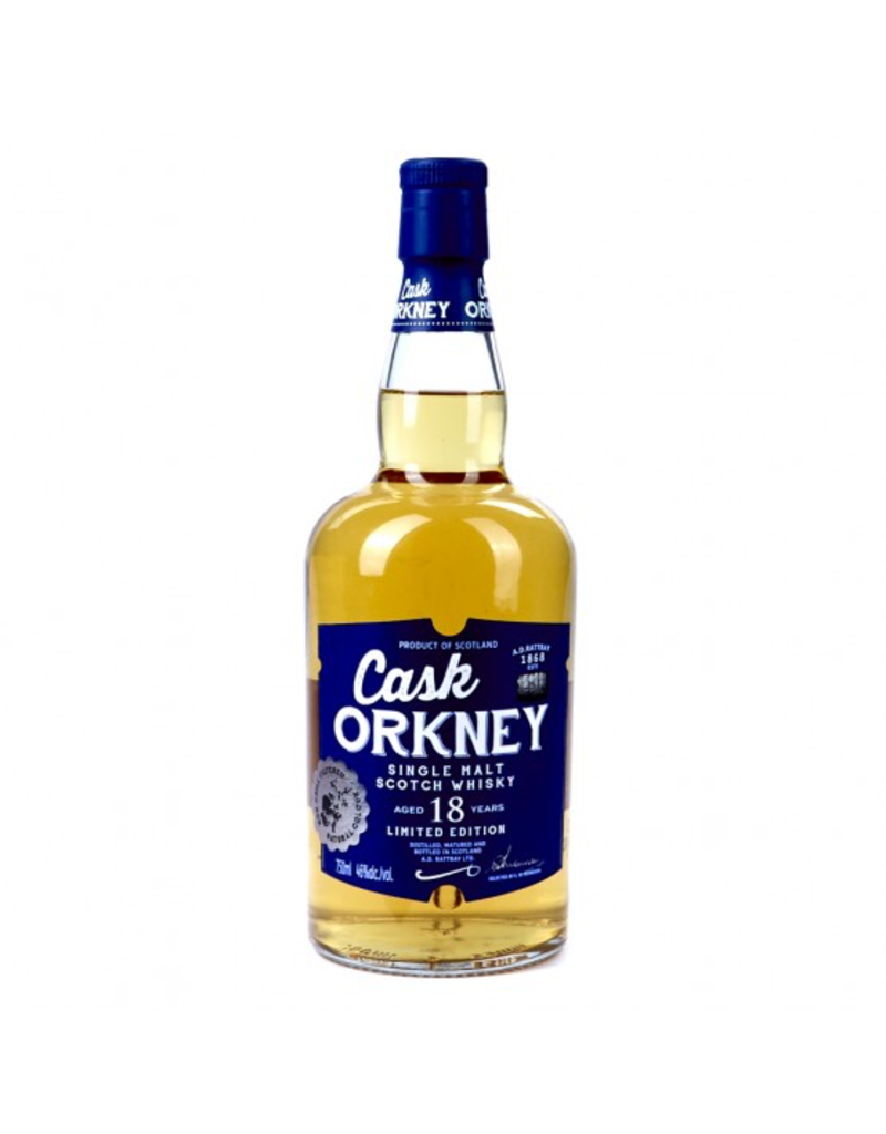 Cask Orkney Single Malt Whisky 18 Years Old Limited Edition 750ml
