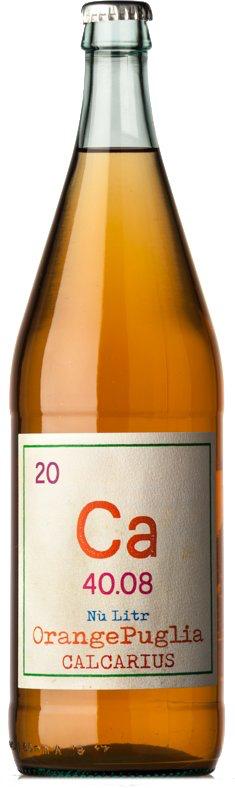 """Italian Wine Calcarius """"Ca 40.08"""" Orange Puglia 2018 1L"""