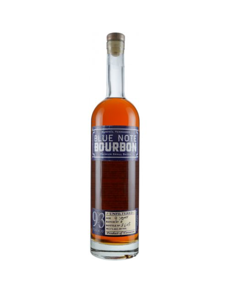 Blue Note Bourbon 9 Year 93 Proof Memphis TN 750ml