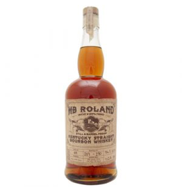 Bourbon MB Roland Wheated Bourbon Grain to Glass Still & Barrel Proof Kentucky Straight Bourbon Whiskey 750ml