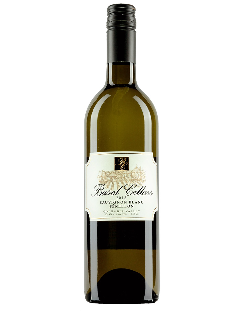 American Wine Basel Cellars Sauvignon Blanc Semillon Columbia Valley WA 2018 750ml