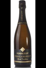 """Sparkling Wine Fichet """"Brut Tradition"""" Crémant de Bourgogne 750ml"""
