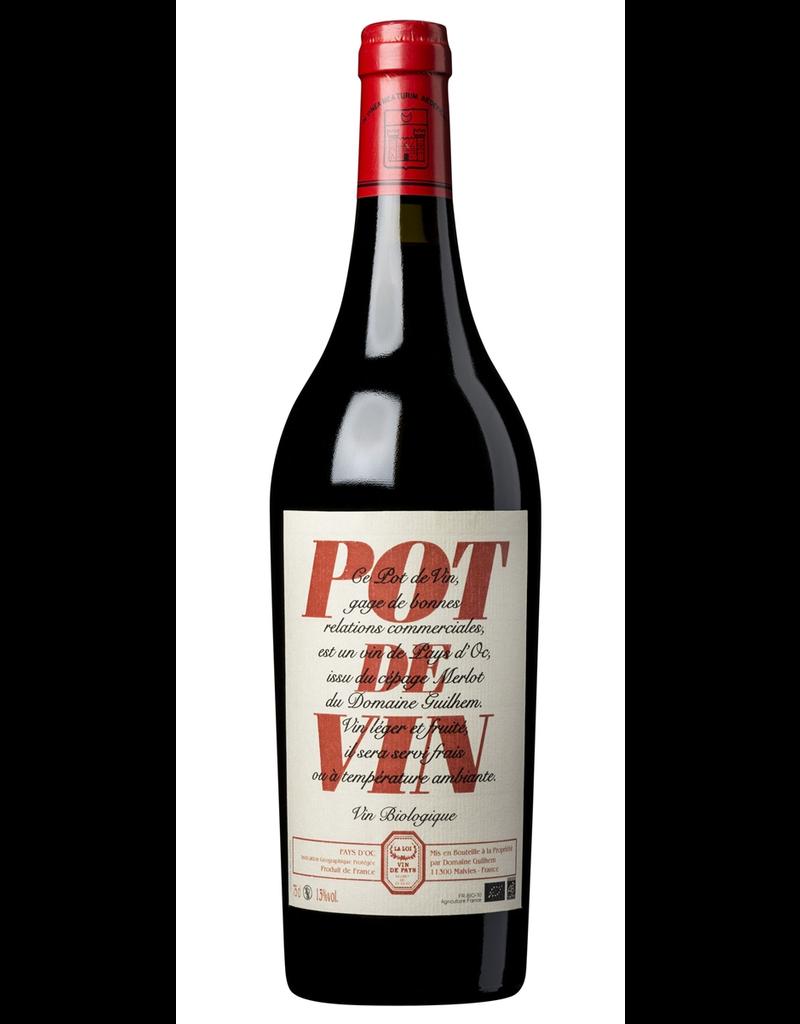 """French Wine Domaine Guilhem """"Pot de Vin"""" Pay d'Oc 2016 750ml"""