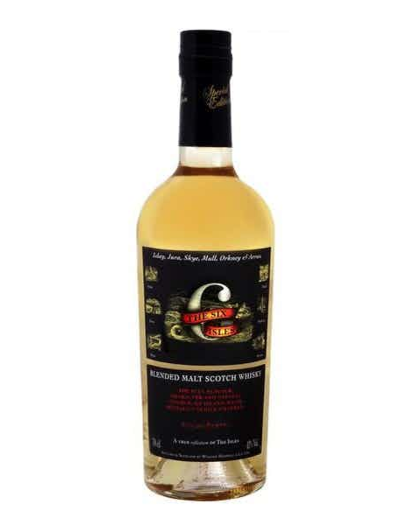 The Six Isles Blended Malt Scotch Whisky 750ml