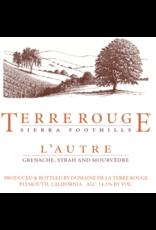 """Terre Rouge """"L'Autre"""" Sierra Foothills 2012 750ml"""