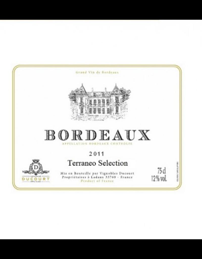 "French Wine Ducourt Bordeaux Blanc ""Terraneo Selection"" Sauvignon-Colombard 2018 750ml"