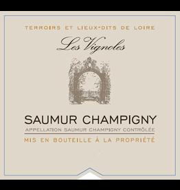 """French Wine Cave de Saumur """"Les Vignoles"""" Saumur Champigny 2015 750ml"""