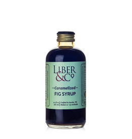 Liber & Co. Caramelized Fig Syrup 9.5oz