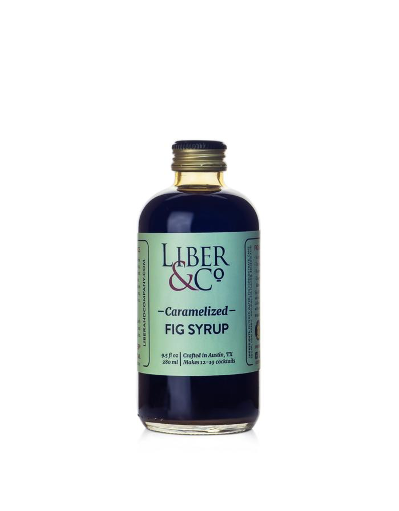 Mixer Liber & Co. Caramelized Fig Syrup 9.5oz