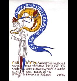 """French Wine Domaine Faillenc Sainte Marie """"Cuvée  Syrhconference de Presse"""" Corbieres Rouge 2017 750ml"""